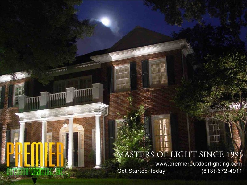 Architectural Lighting Install in St Pete Florida in Architectural Lighting photo gallery from Premier Outdoor Lighting