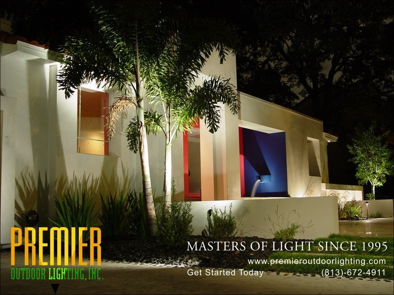 Architectural Lighting Techniques  - Company Projects in Architectural Lighting photo gallery from Premier Outdoor Lighting