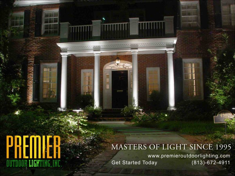 Architectural Lighting  Project in Wesley Chapel in Architectural Lighting photo gallery from Premier Outdoor Lighting