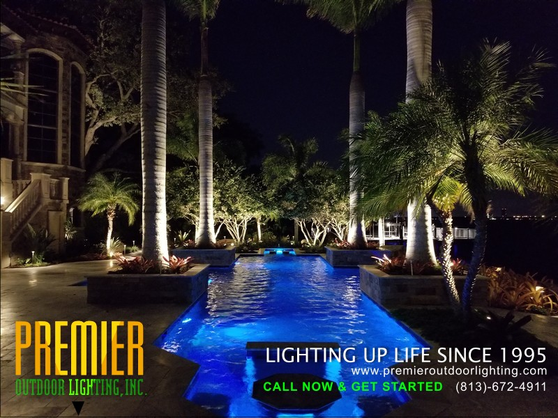 Outdoor Colored Lighting LED Installers in Colored Lighting photo gallery from Premier Outdoor Lighting