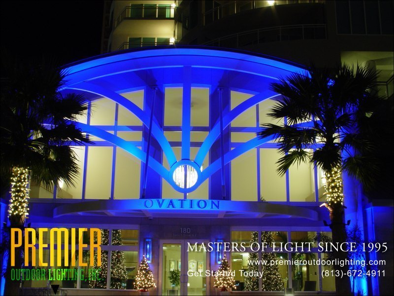 Colored lighting photo gallery image 1 premier outdoor lighting in colored lighting photo gallery from premier outdoor lighting aloadofball Gallery