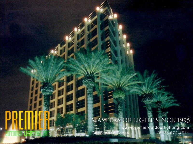 Commercial Outdoor Lighting Techniques - Tampa in Commercial Lighting photo gallery from Premier Outdoor Lighting