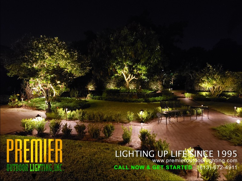 Commercial Landscape Lighting Services - Tampa in Commercial Lighting photo gallery from Premier Outdoor Lighting
