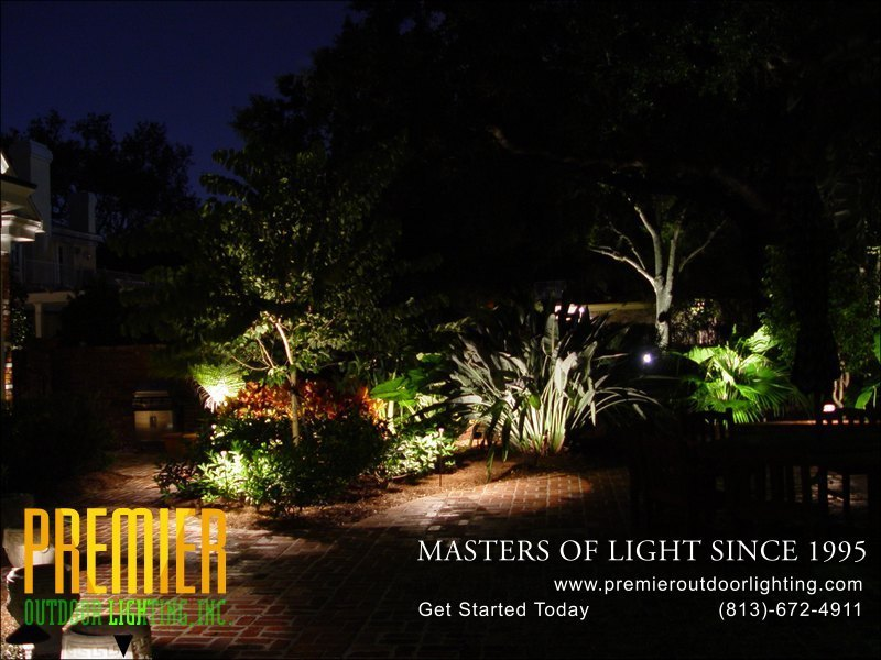 Deck Lighting Techniques  - Company Projects in Deck Lighting photo gallery from Premier Outdoor Lighting