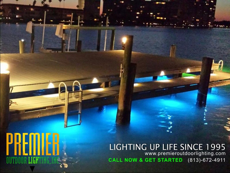 St Pete Dock Lighting Service in Dock Lighting photo gallery from Premier Outdoor Lighting