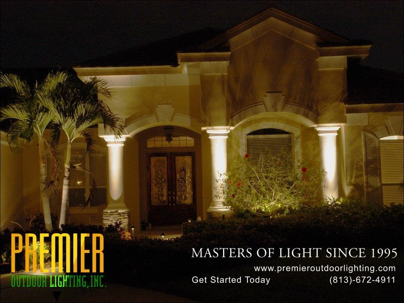 Entry Lighting Techniques  - Company Projects in Entry Lighting photo gallery from Premier Outdoor Lighting