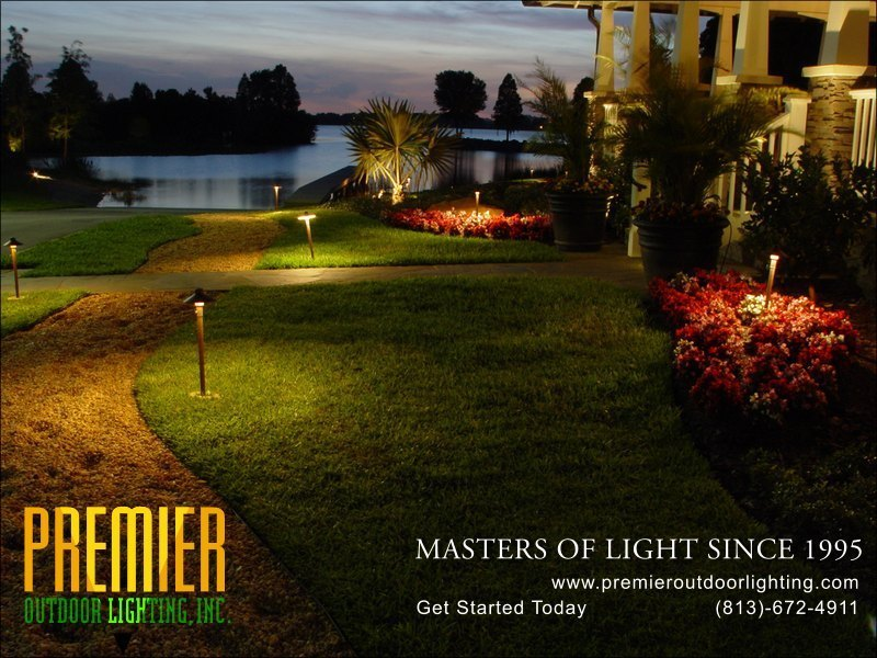 Garden Lighting Techniques  - Company Projects in Garden Lighting photo gallery from Premier Outdoor Lighting