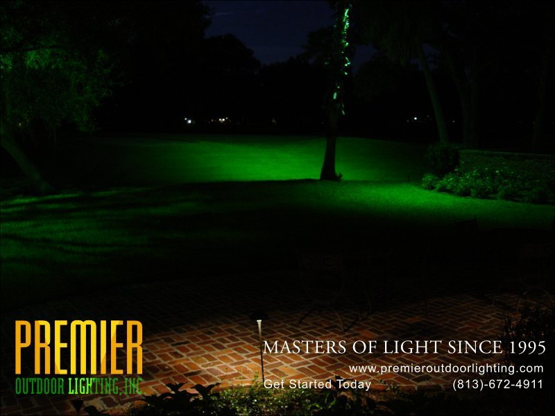 Golf Course Lighting Techniques  - Company Projects in Golf Course Lighting photo gallery from Premier Outdoor Lighting