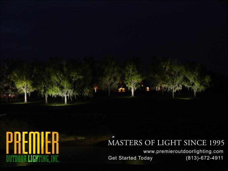Long Range Projection Lighting Techniques  - Company Projects in Long-Range Projection Lighting photo gallery from Premier Outdoor Lighting
