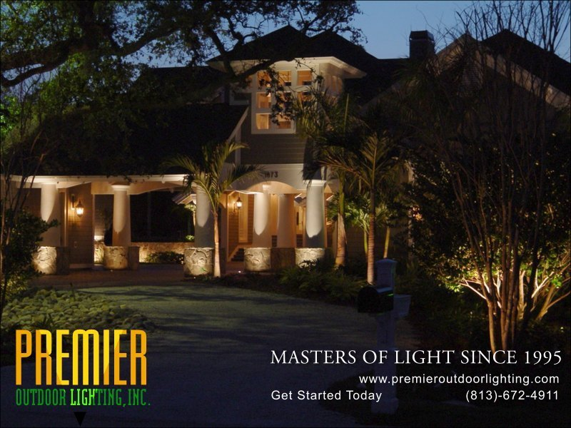 Moonlighting Lighting Techniques  - Company Projects in Moonlighting photo gallery from Premier Outdoor Lighting