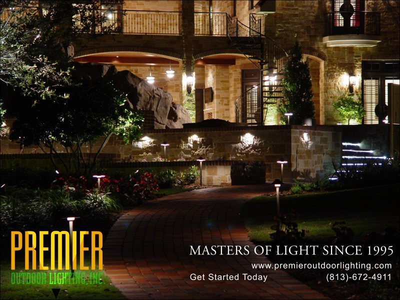 Marvelous In Path Lighting Photo Gallery From Premier Outdoor Lighting