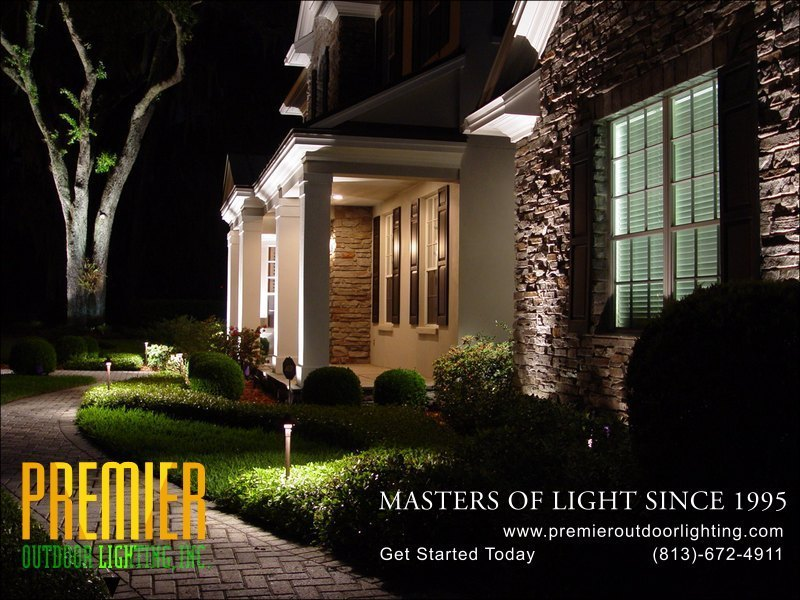 Outdoor Path Lighting Techniques  - Company Projects in Path Lighting photo gallery from Premier Outdoor Lighting