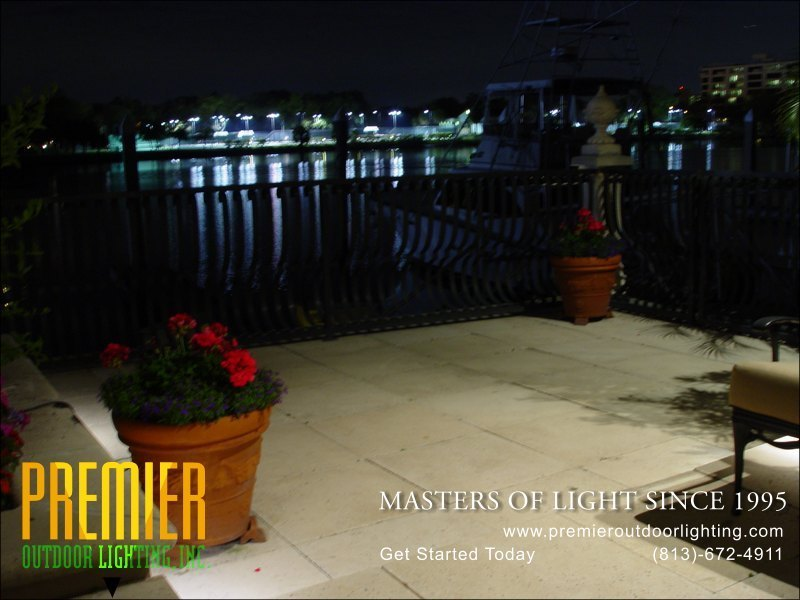Outdoor Patio Lighting Techniques  - Company Projects in Patio Lighting photo gallery from Premier Outdoor Lighting