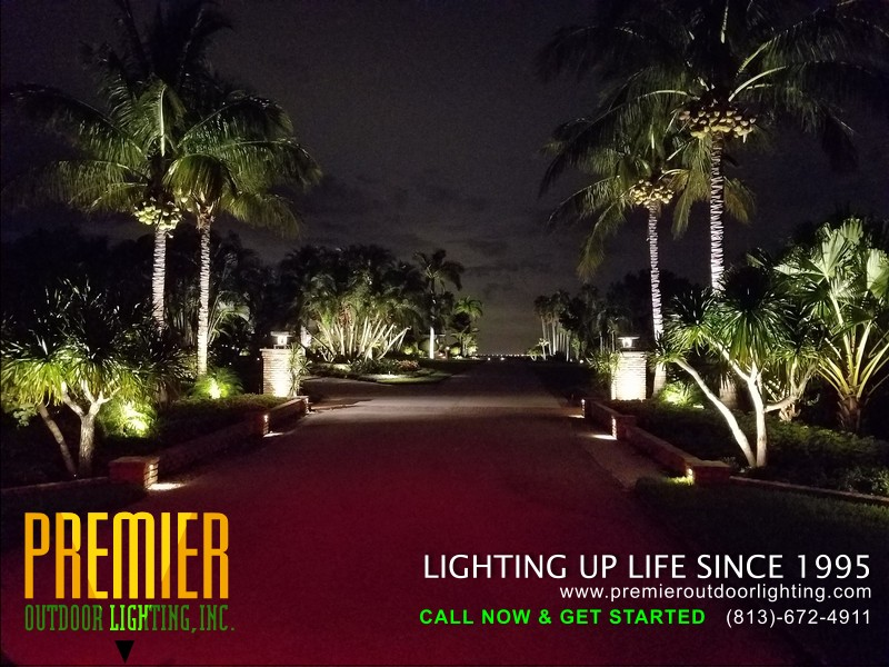 Outdoor Lighting Repair Near Me in Tampa in Residential Outdoor Lighting photo gallery from Premier Outdoor Lighting