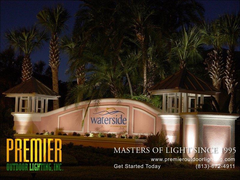 Outdoor Lighting Tampa Sign lighting photo gallery image 18 premier outdoor lighting in sign lighting photo gallery from premier outdoor lighting workwithnaturefo