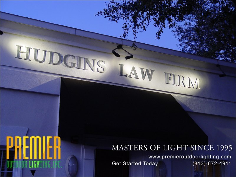 Delightful In Sign Lighting Photo Gallery From Premier Outdoor Lighting