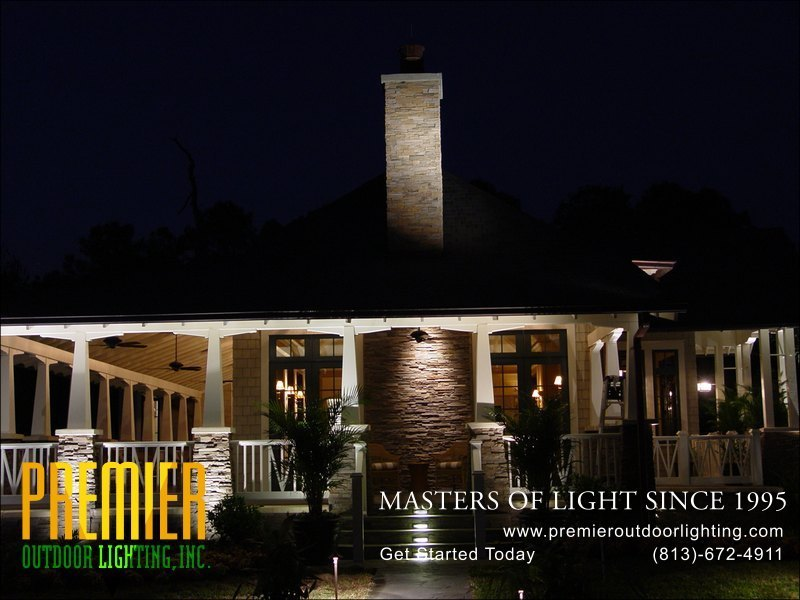 Step Lighting Techniques  - Company Projects in Step Lighting photo gallery from Premier Outdoor Lighting