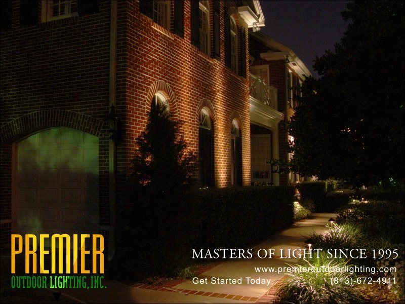 Wall Washing Lighting Techniques  - Company Projects in Wall Washing photo gallery from Premier Outdoor Lighting
