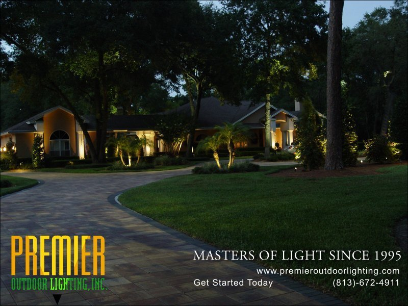 Yard Lighting Techniques  - Company Projects in Yard Lighting photo gallery from Premier Outdoor Lighting